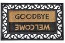Kokosová rohožka Impala Welcome goodbye