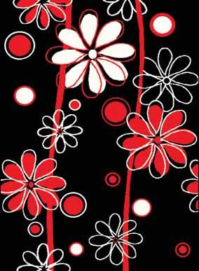 Kusový koberec Flower