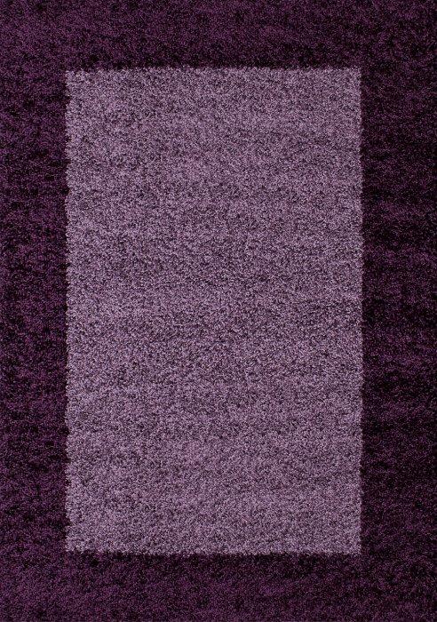 Kusový koberec Life Shaggy 1503 lila
