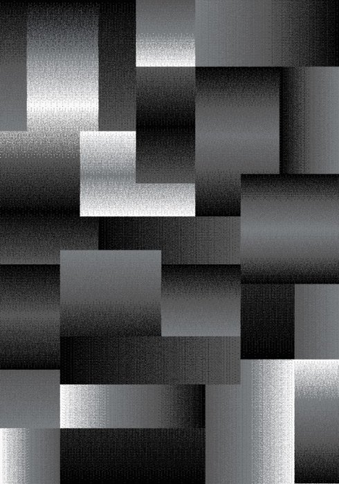 Kusový koberec Miami 6560 black